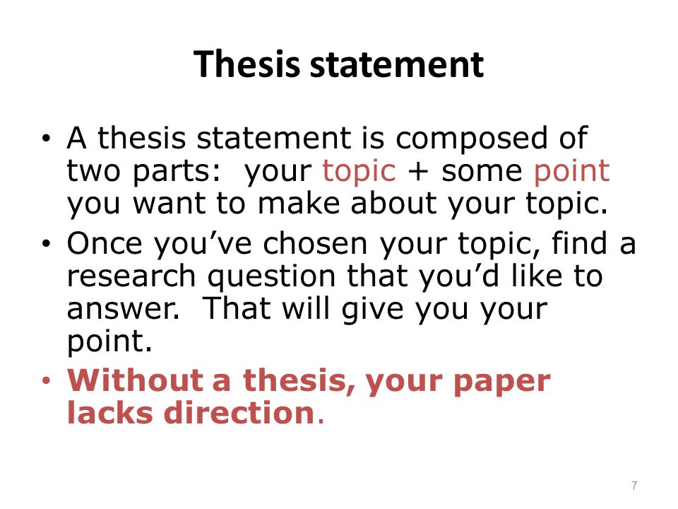 parts of thesis statement of the problem Engr 185 developing problem statements discussion 1 what is a problem statement problem statements lead the reader from a shared context to the perception of a.