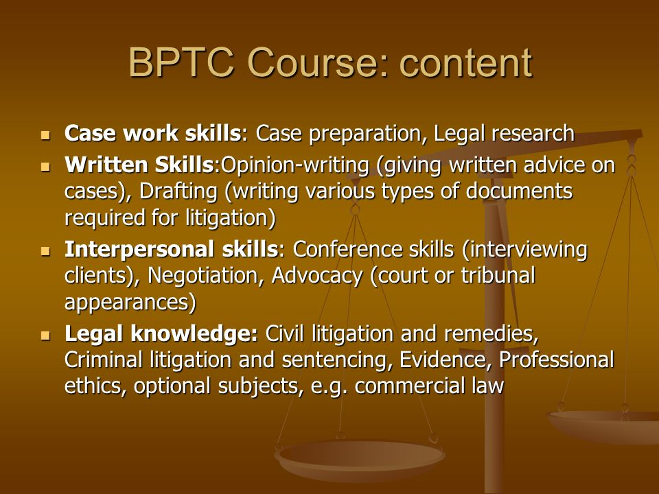 The legal profession in england ppt download for Legal document preparer training