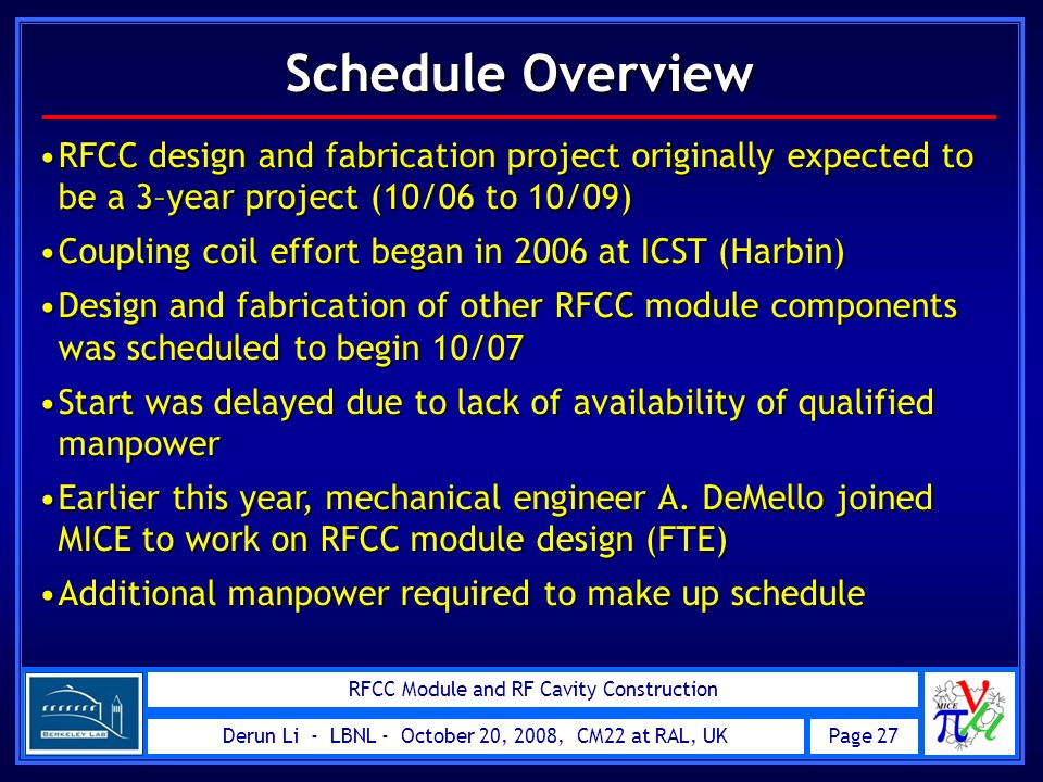 RFCC Module and RF Cavity Construction - ppt video online ...