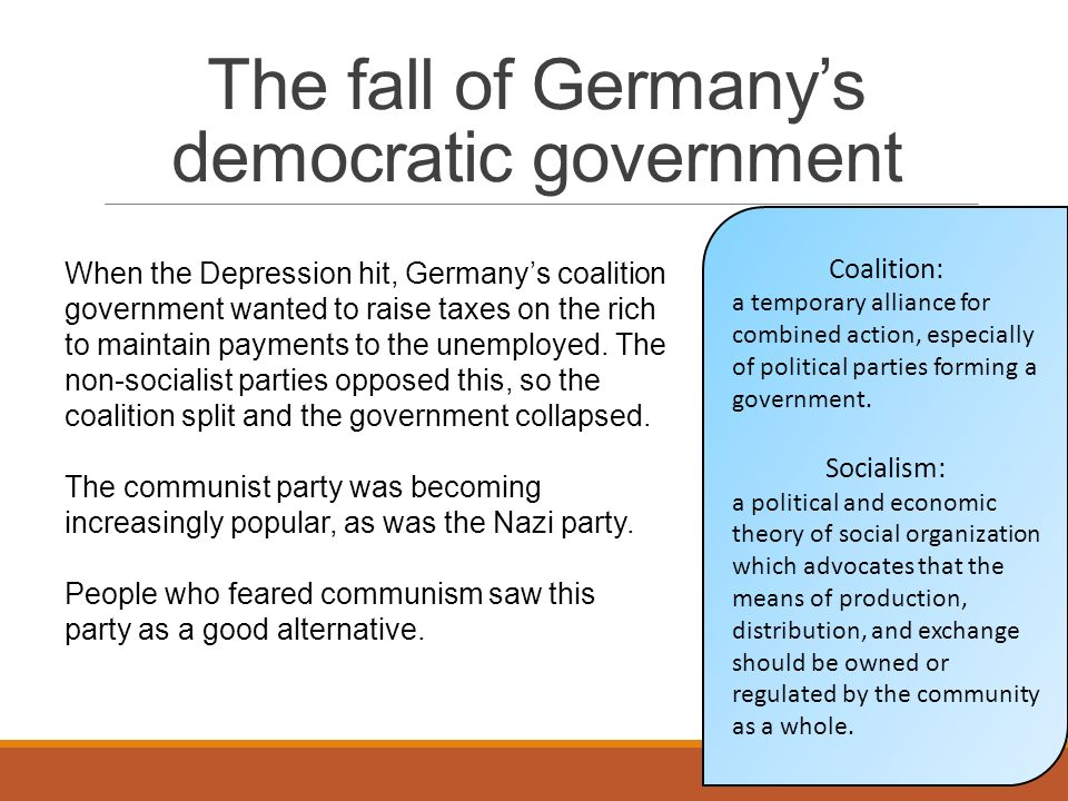 the collapse of germanys communism East germany became a communist country under the control of the soviet union  at the same  around that time the soviet union was beginning to collapse.