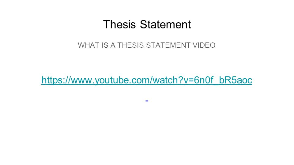 why thesis statement is important But, no single sentence, in my opinion, is as important as the thesis statement, though the thesis statement is a powerful, yet underutilised, tool in the academic arsenal, and it can make or break an essay.