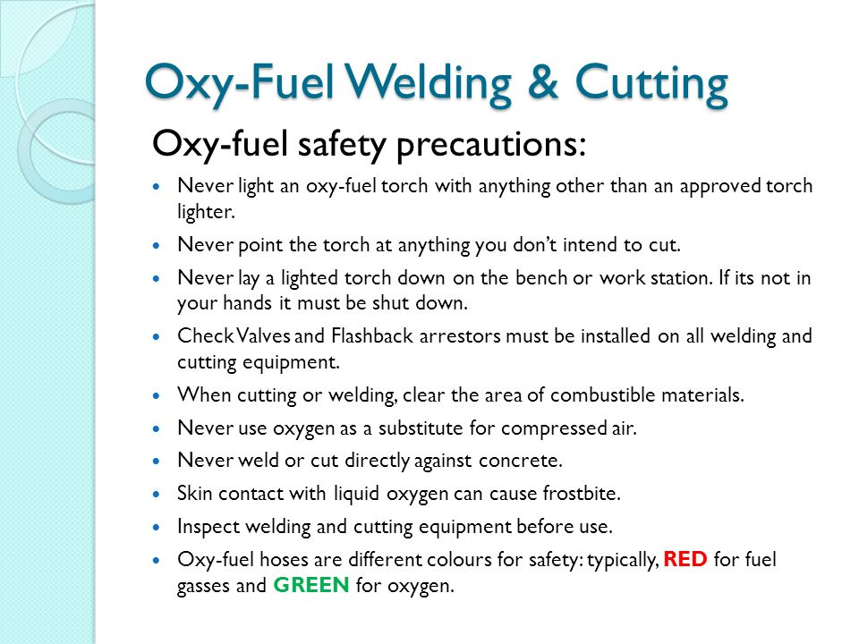 Welding And Cutting Safety Ppt Video Online Download