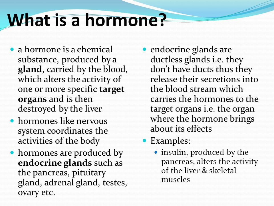 10.2 hormones. - ppt video online download, Human Body