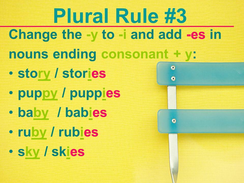 Spelling Killers Plural Nouns Ppt Video Online Download