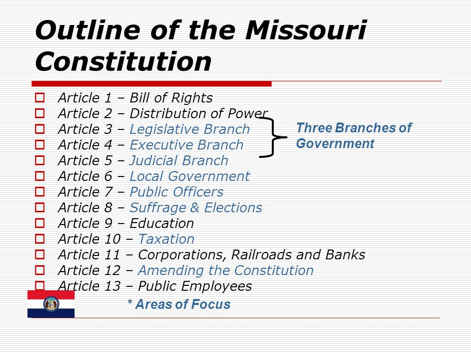 a review of the rewriting process of the missouri state constitution Alec backs extreme climate denial, constitutional rewrite and effectively use the constitution's amendment process missouri will also get a chance to.
