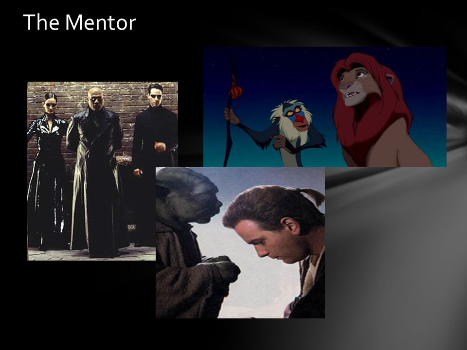 an analysis of the mentor archetype in films and literature As such the film industry takes the freedom in interpreting biblical themes in  various forms  as literature, the bible contains a plethora of archetypes   joseph campbell, in the hero with a thousand faces discusses his theory of  this.
