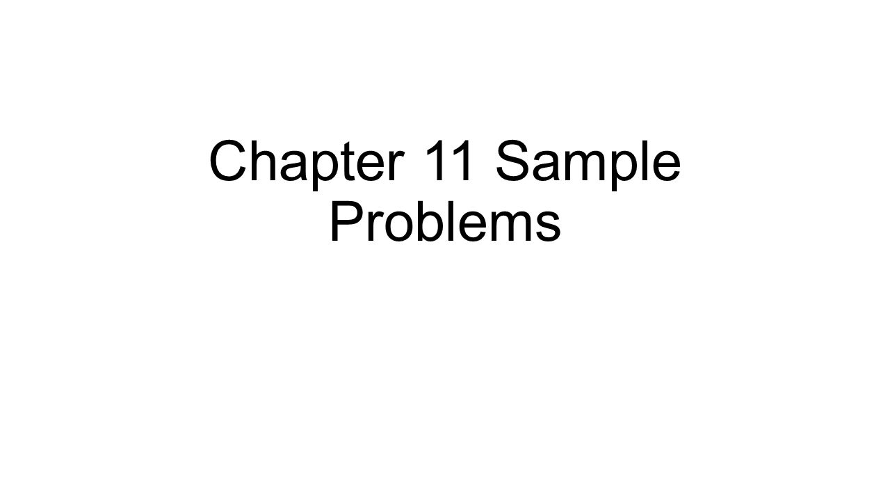 chapter 11 problems Problems from chapter 11 corporate finance use the following information to answer questions 20 and 21 you should answer both questions on the same graph.
