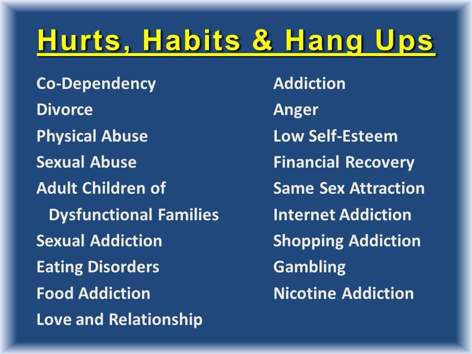 recovery and relationship addiction
