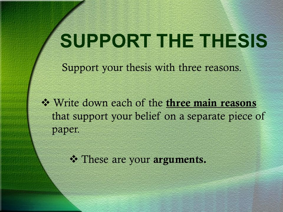 Writing The Argumentative Essay  Ppt Video Online Download  Support