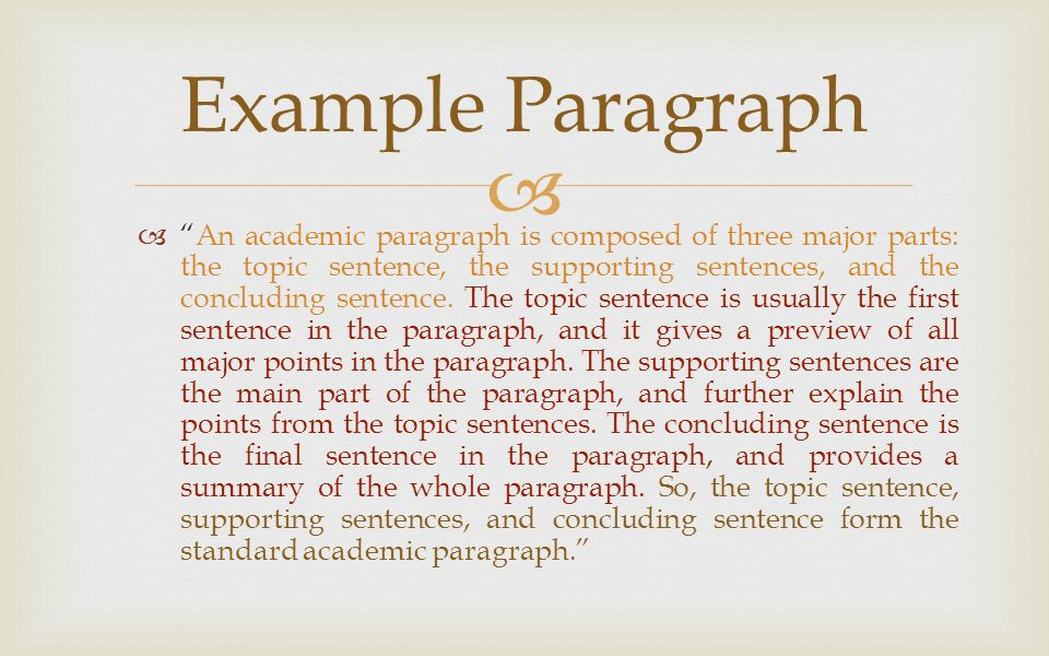 sentence and major part ans The difference between thesis statements and topic sentences writing a thesis statement: the thesis statement is the big idea of your whole paper the rest of the paper is facts about how here is a complete example of how the thesis statement and topic sentences work together in an essay: students face many.
