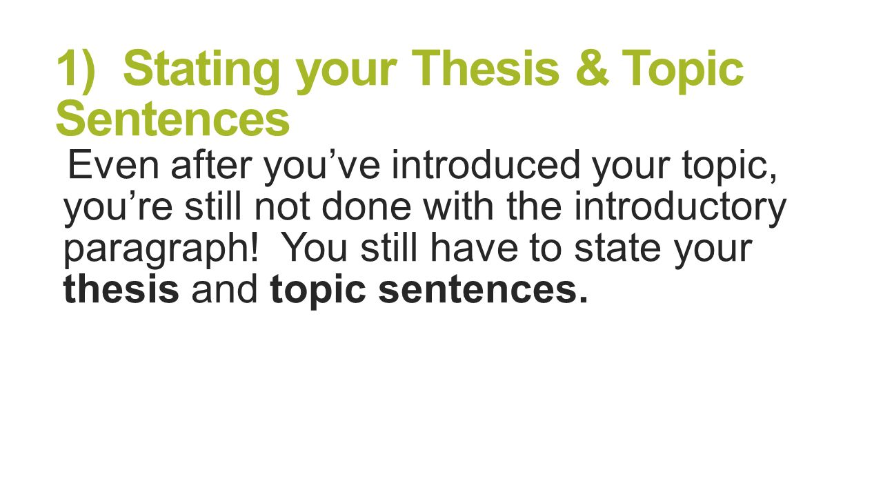 review thesis statement In this lesson, you will learn how to evaluate a thesis statement and identify the  problems that might call for revision before you proceed, you should review the.