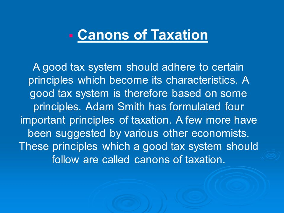 features of a good tax system Countries with similar economic characteristics in similar economic  if a country  in latin america or elsewhere wants to have a tax system that is both more  as  idb (1998) shows, there are very great differences in all these respects from.