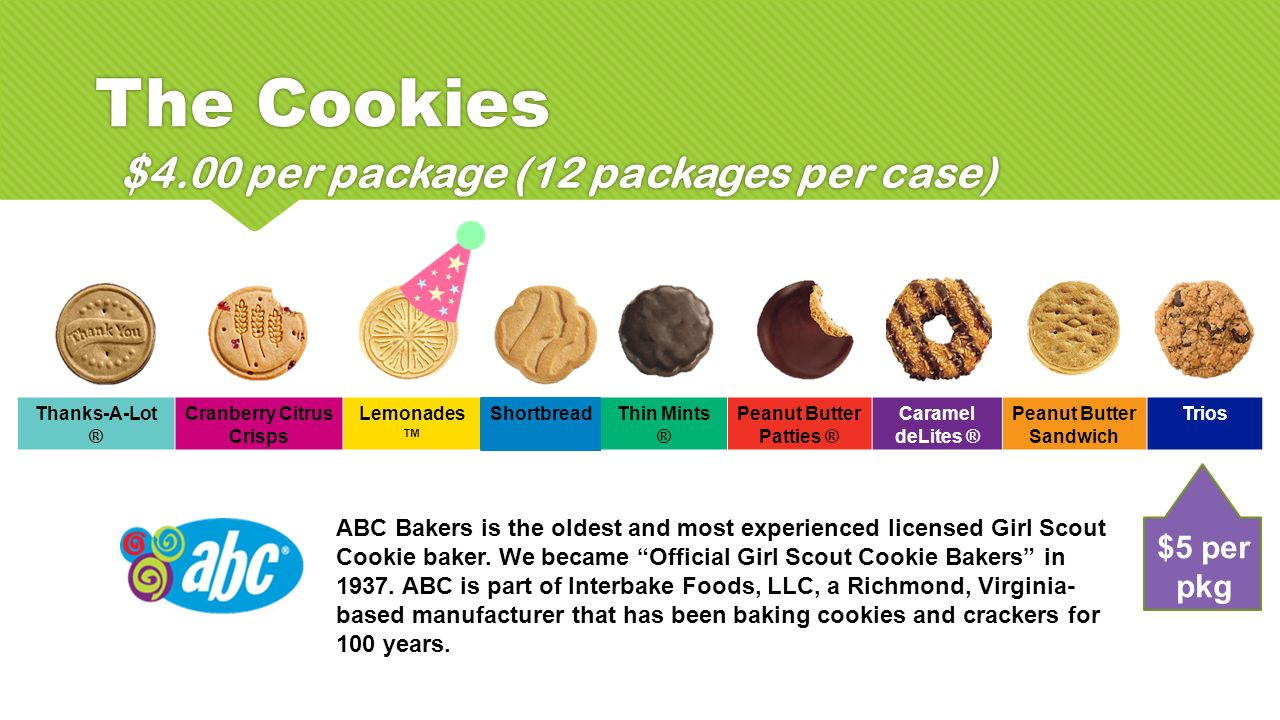 girl scout smart cookies