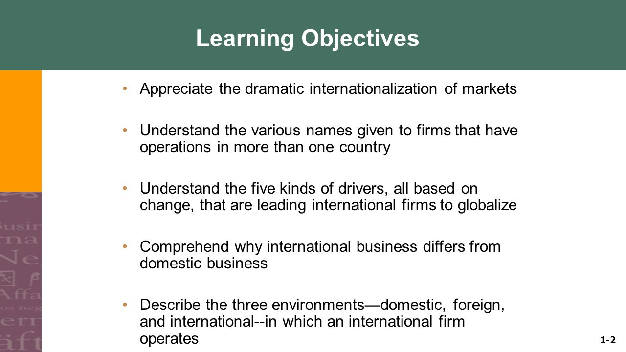 the rapid change of international business Model to cope with rapid changes of the business world, but keep in mind the profit maximization factor change may be in organization structure, organization employees, technology of the business concern, production techniques, administration or management change, change management have proof different organization when.