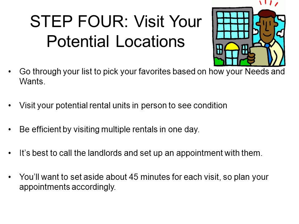 Steps To Renting An Apartment Part - 46: 5 STEP ...