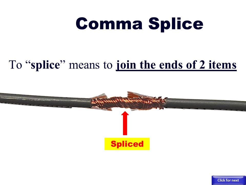 run on and comma splice pdf