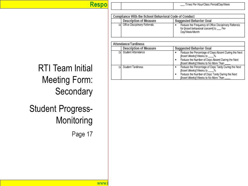 team meeting form