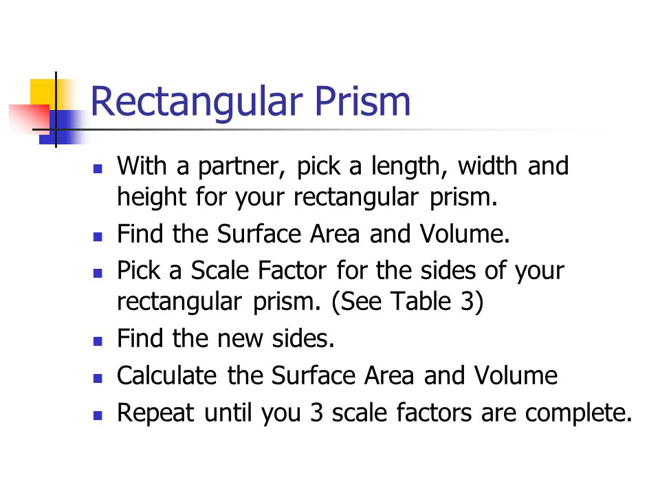 Remember these surface area of a prism ph 2b ppt download surface area and volume of similar figures 3 rectangular prism ccuart Images