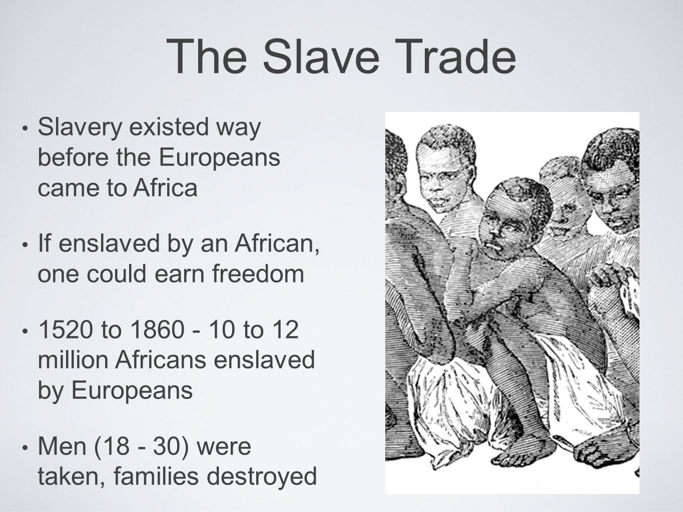 Essay: The Slave Trade and its Effects on Early America