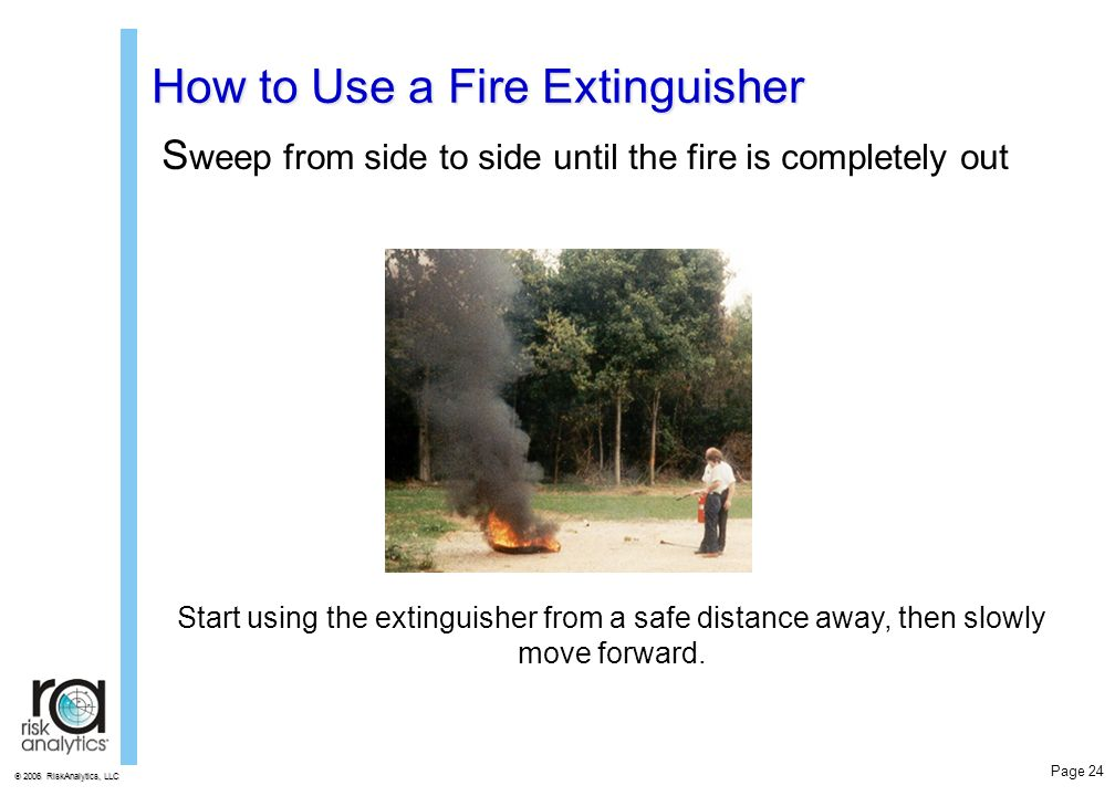 how to use a fire extinguisher pdf