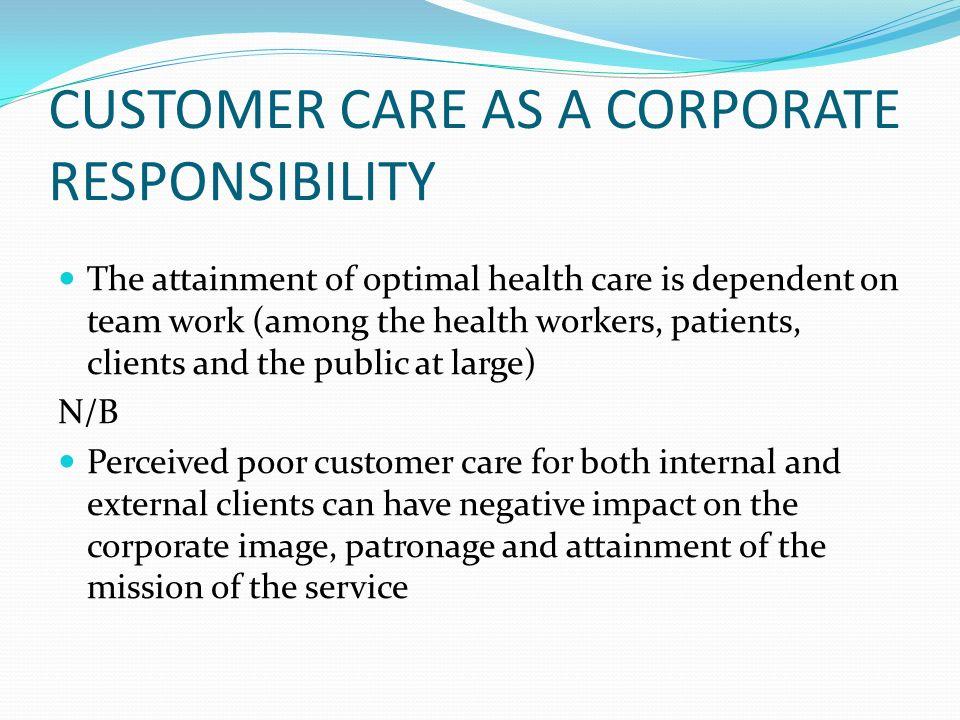 internal and external customer service