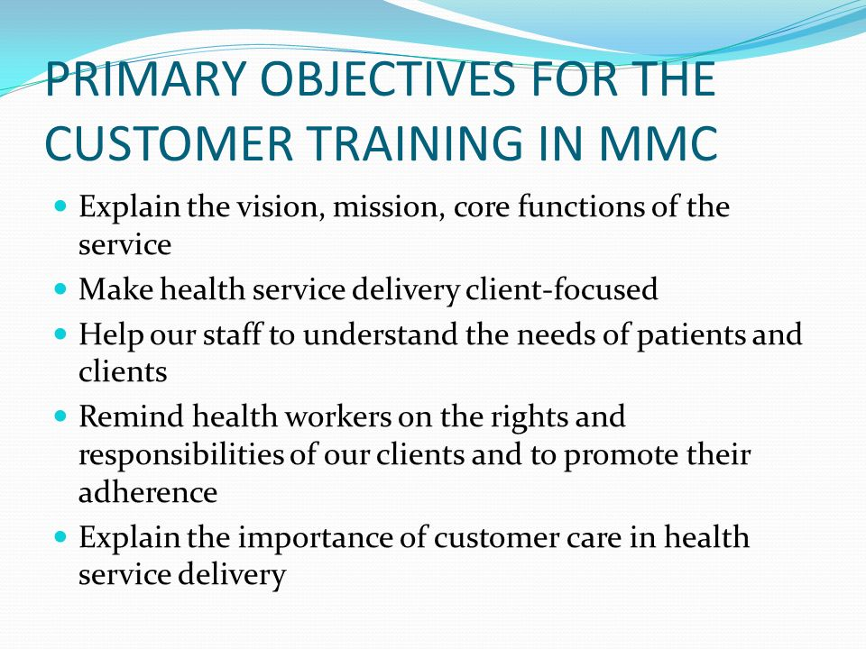 GHANA HEALTH SERVICE CUSTOMER CARE TRAINING - ppt video online download