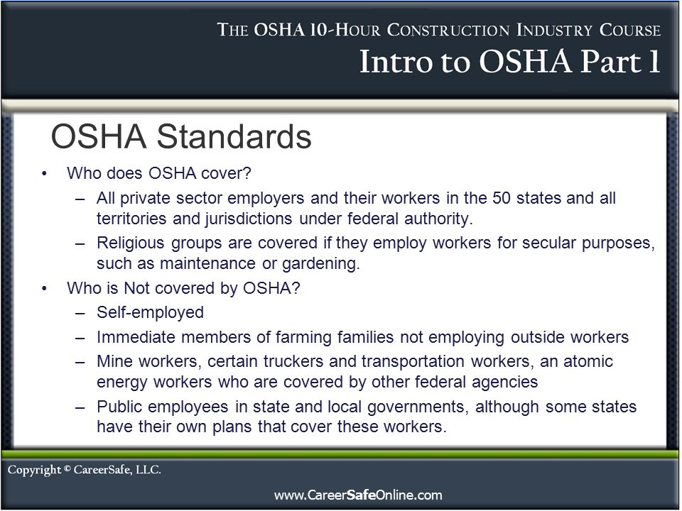 osha rules regulations gallery