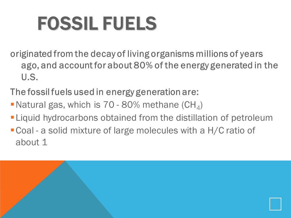 H C Ratio Of Natural Gas
