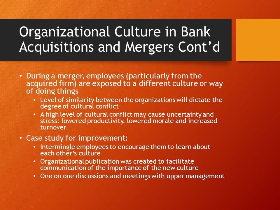 organisational culture case study Case study unilever changes solution of the case should include a new organizational model culture organizational changes in company.
