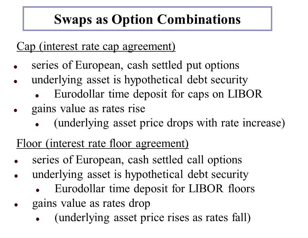 Cash settlement of stock options