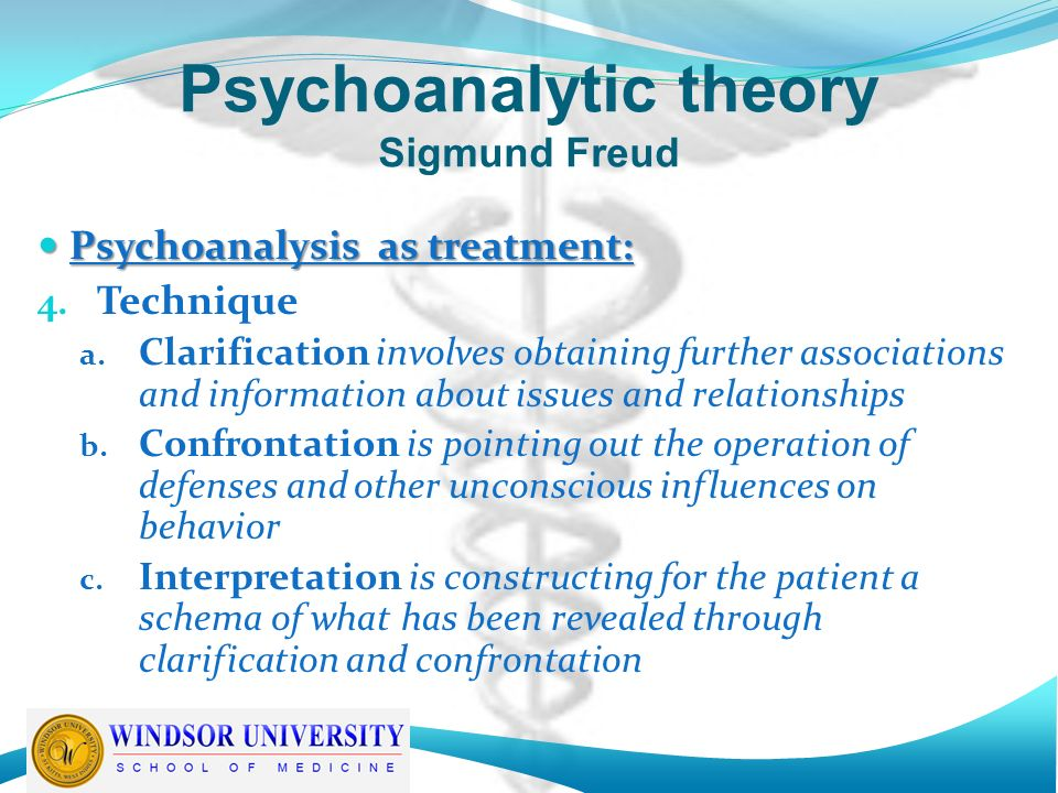 Sigmund Freud on psychoanalysis