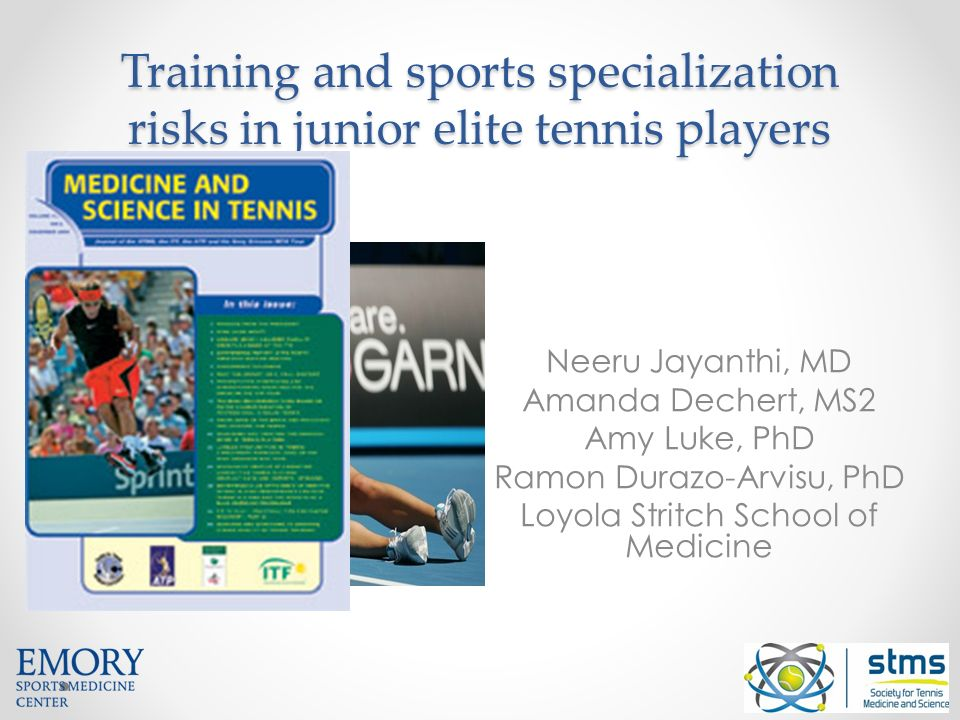 Sports-Specialized Intensive Training and the Risk of ...