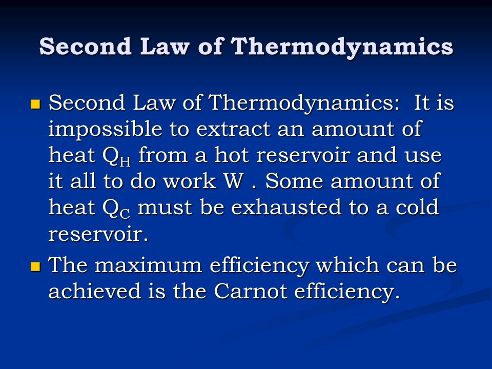 the case of the second law of thermodynamics The first, second, and third law of thermodynamics (thlaws05tex) atam de waele september 3, 2009 in this case the second law is a conservation law with ⁄ow and.
