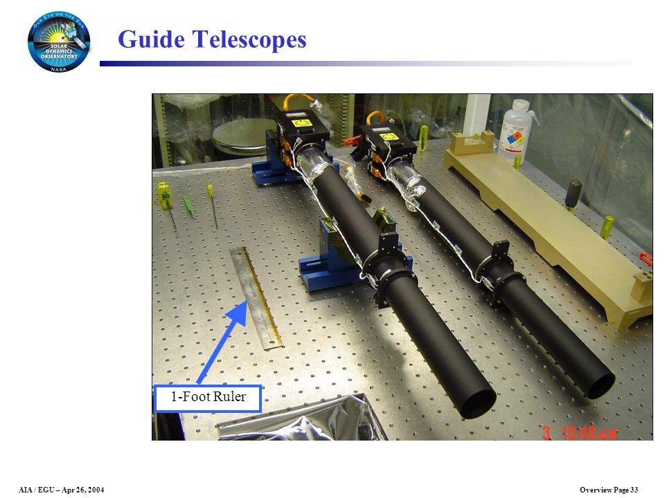 Guide Telescopes 1-Foot Ruler