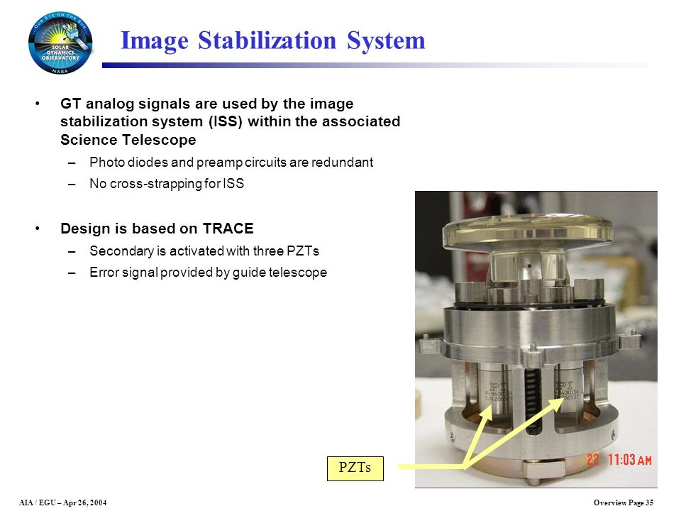 Image Stabilization System