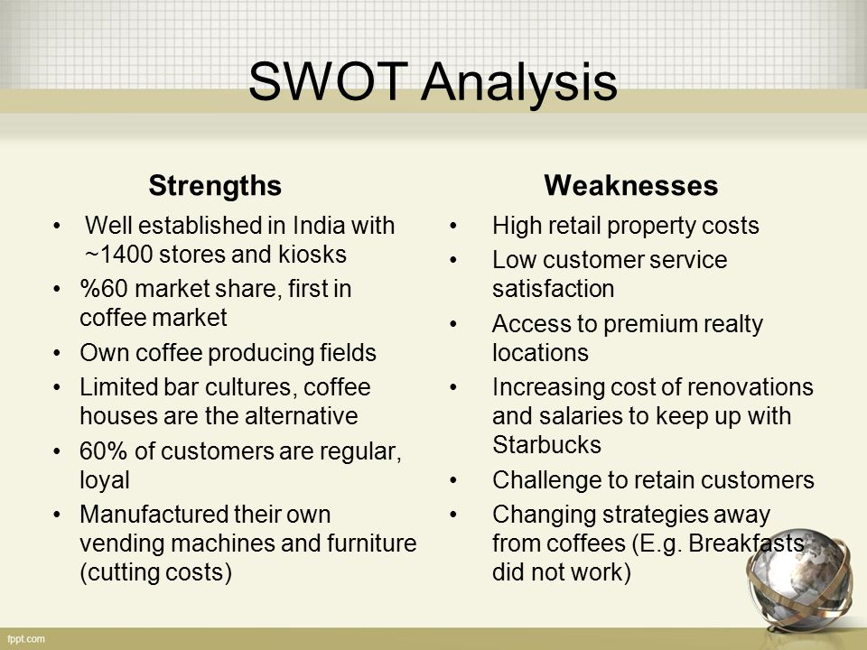 swot analysis for bakery business Learn how to use business swot analysis to find your strengths and weaknesses, and the opportunities and threats you face includes template and example.