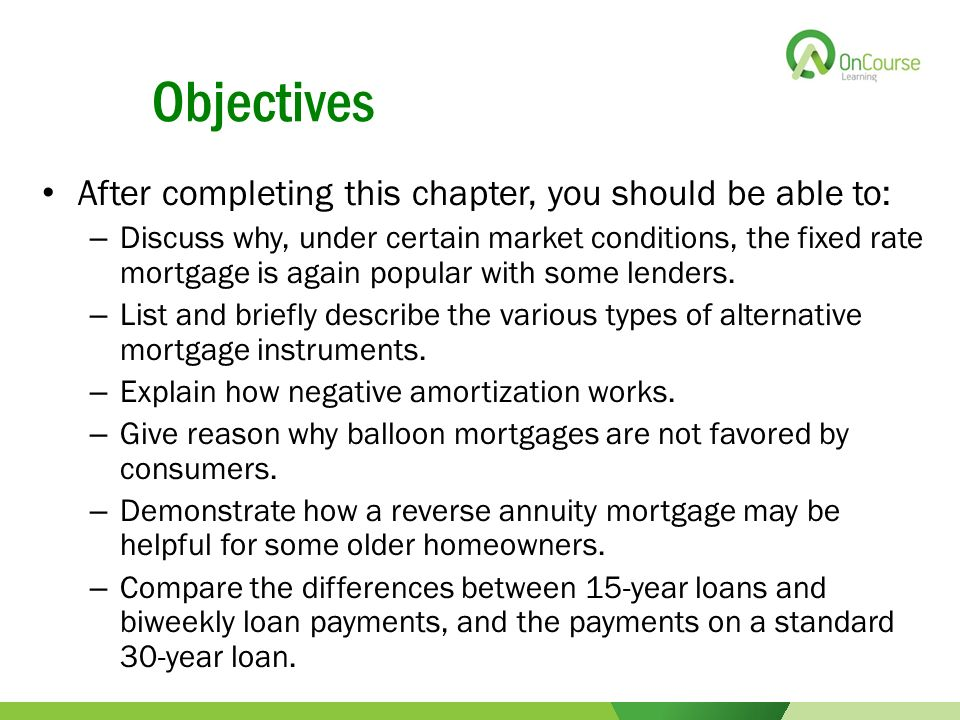 describe the amortisation requirements for certain Desired amortization scheduleafter clicking submit, an amortization schedule   monthly private mortgage insurancethe monthly amount you will be required to.