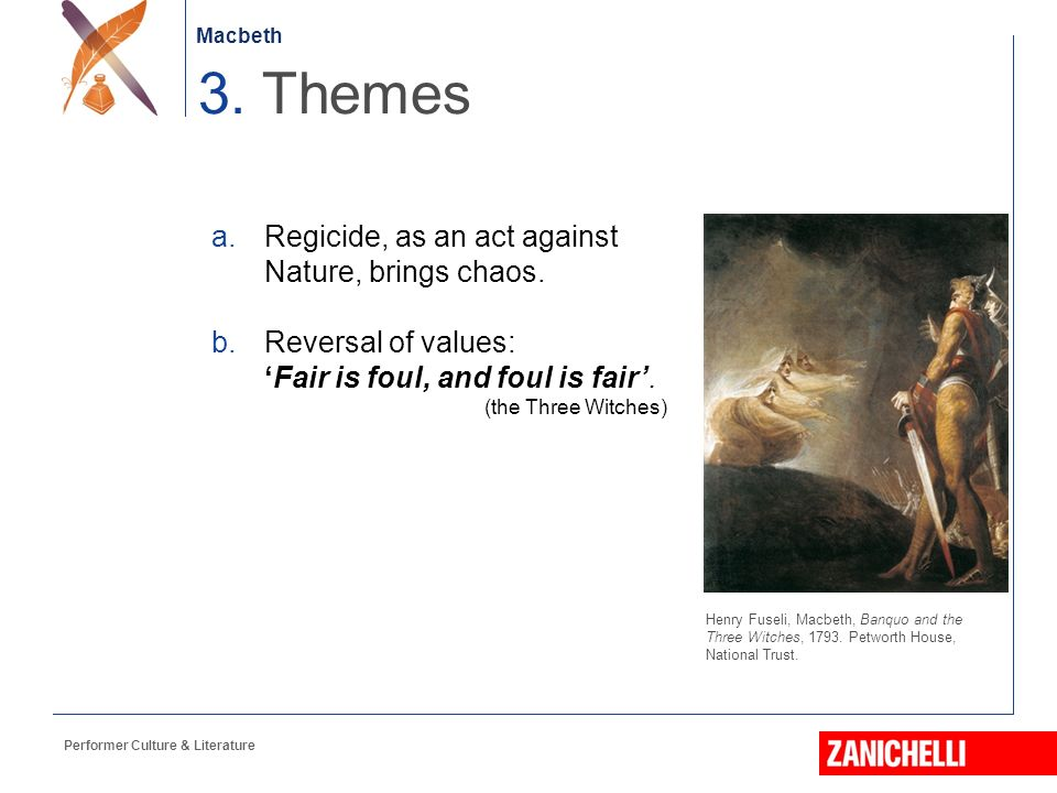 reversal in nature in macbeth Get everything you need to know about nature and the unnatural in macbeth  analysis, related quotes, theme tracking.