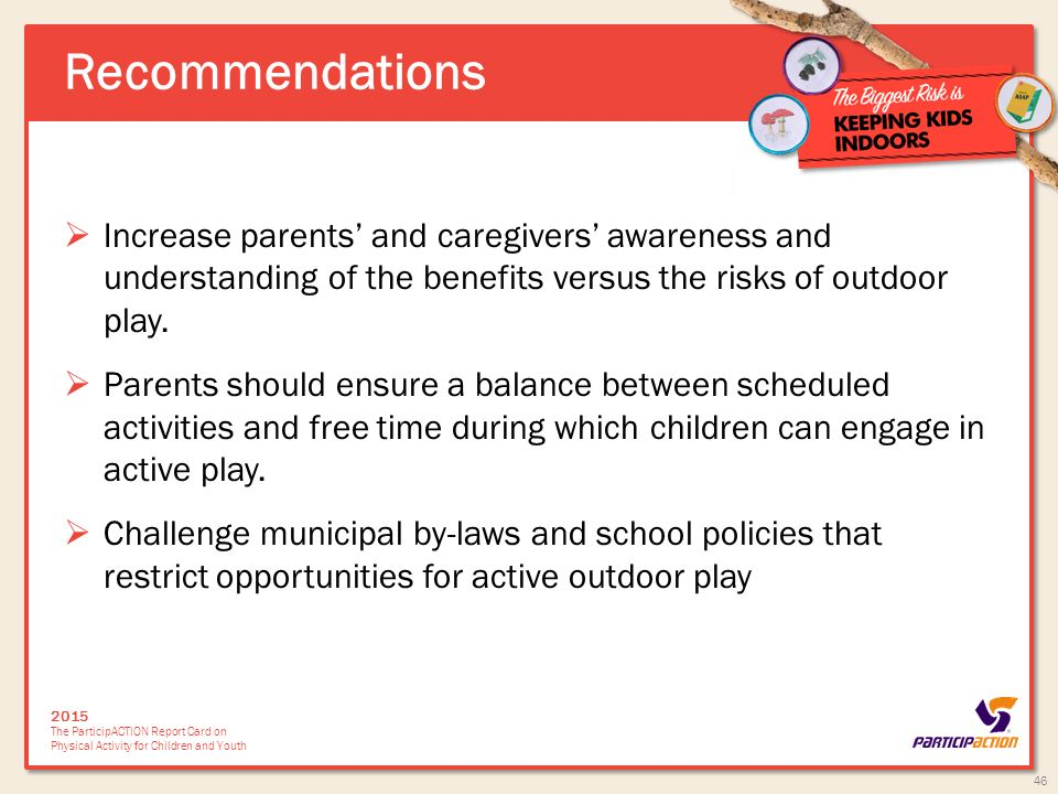 Risky Play and Children's Safety: Balancing Priorities for Optimal Child Development