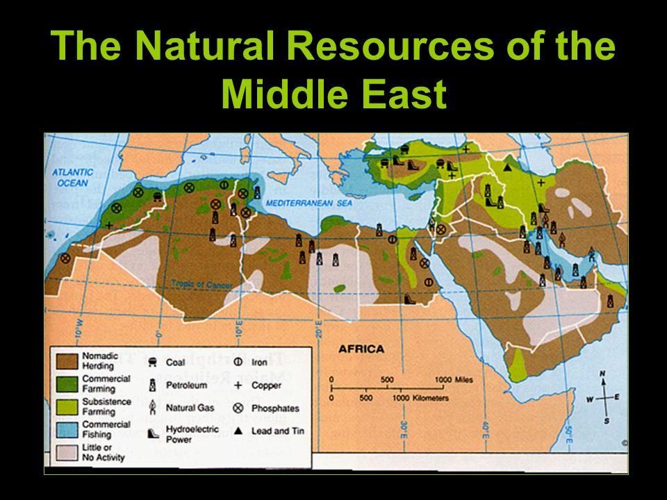 The Geography of the Middle East ppt download