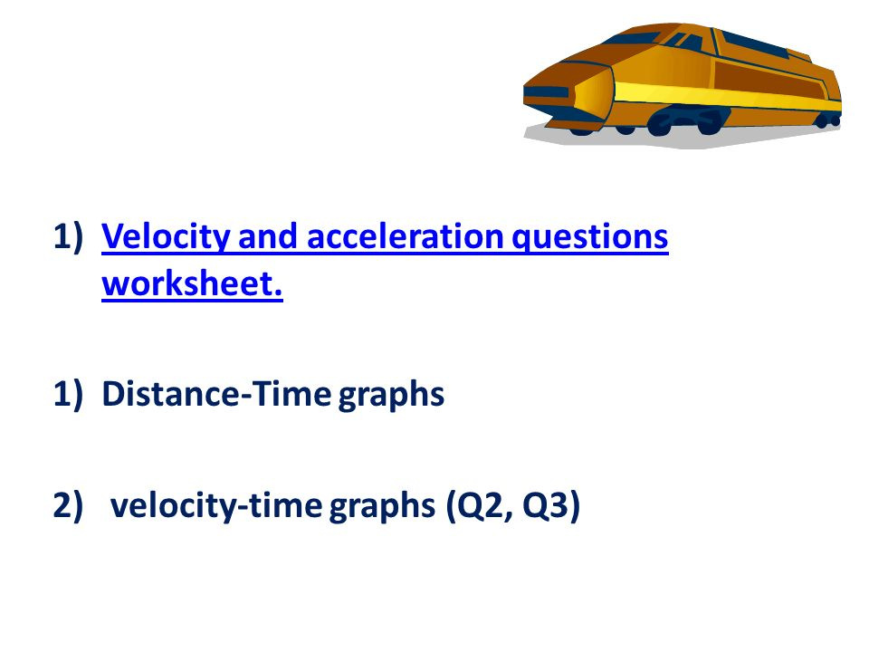 how to get from acceleration to velocity