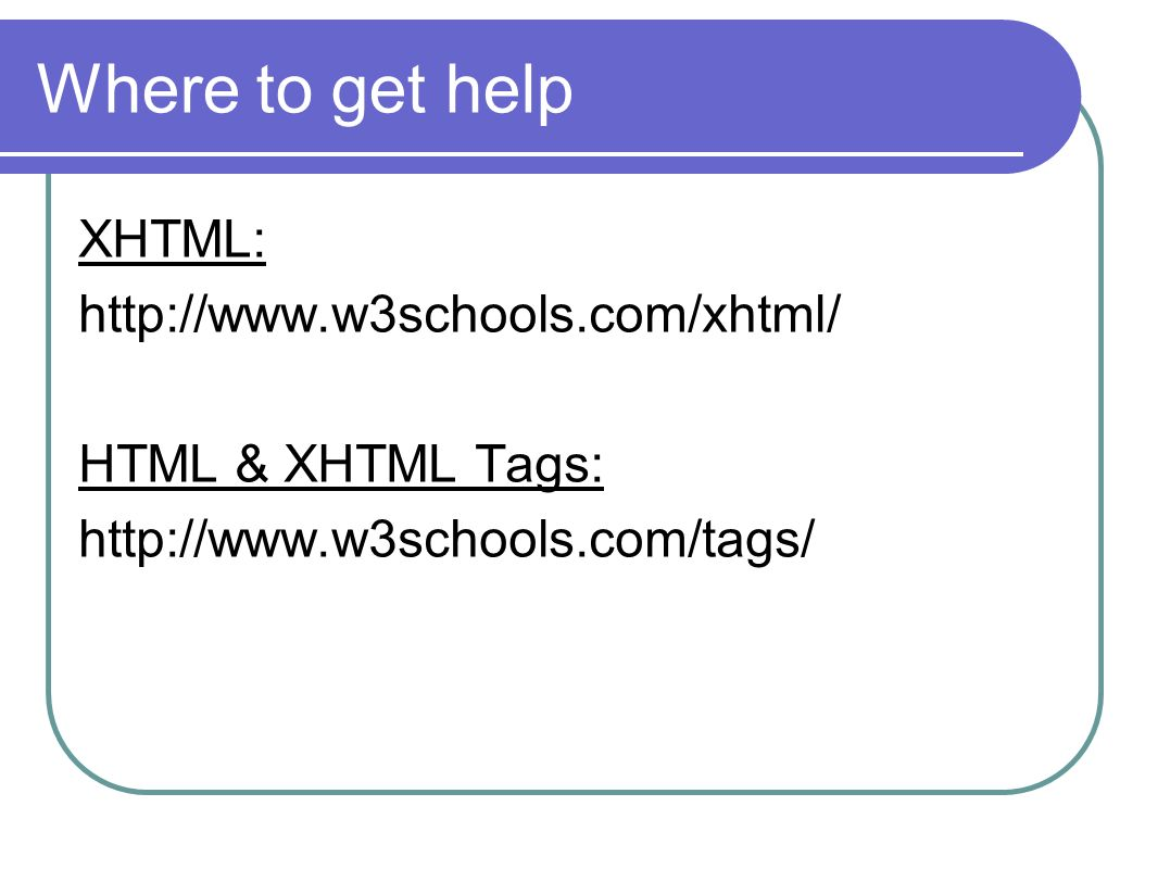 Bridges to computing general information ppt video online download where to get help xhtml httpw3schools xflitez Choice Image