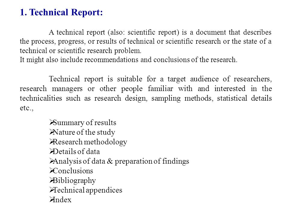 Scientific Report Methodology For Research Paper Writing Stsm Short