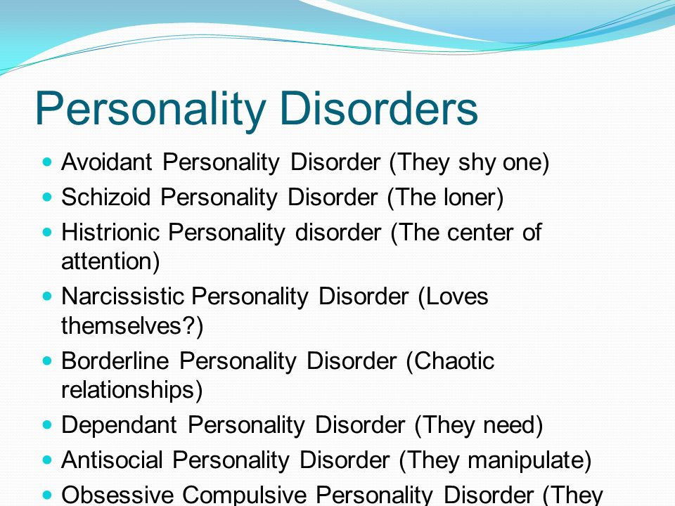 Characteristics dating girl with histrionic personality disorder