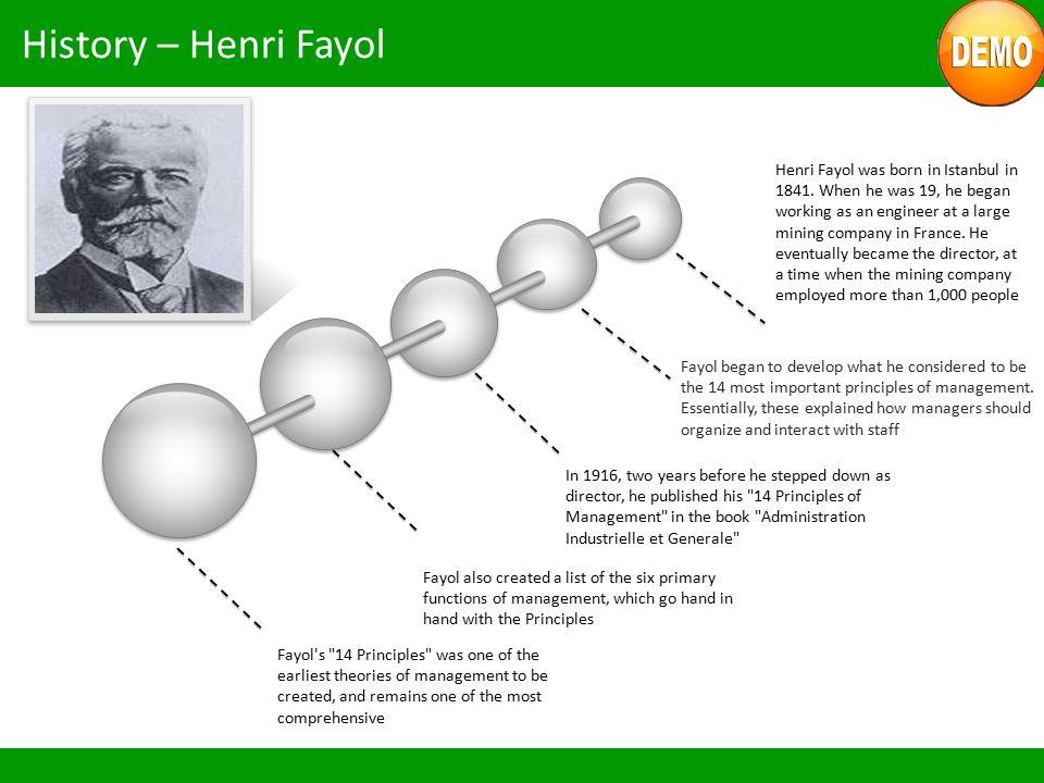 History – Henri Fayol