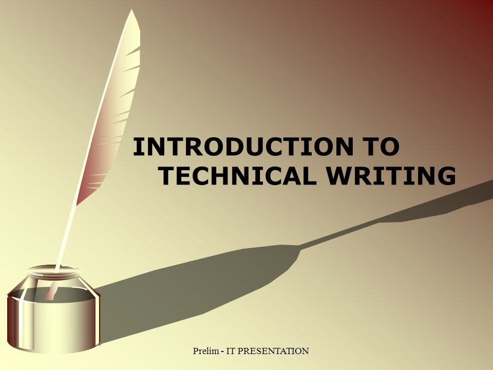 introduction to technical writing English (eng) courses eng 1113 introduction to creative literary arts introduction to literature (3-0) study of specialized topics in professional and technical writing, with a focus on particular areas of emphasis.
