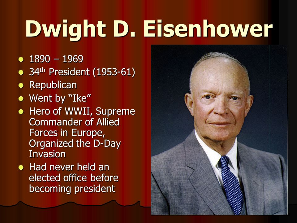 the life and times of president dwight d eisenhower Enjoy the best dwight d eisenhower quotes at brainyquote quotations by dwight d eisenhower, american president, born october 14, 1890 share with your friends.