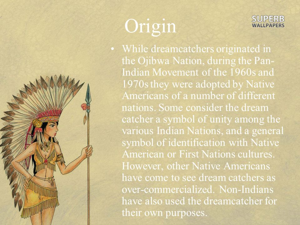 History Behind Dream Catchers Native American ppt video online download 3