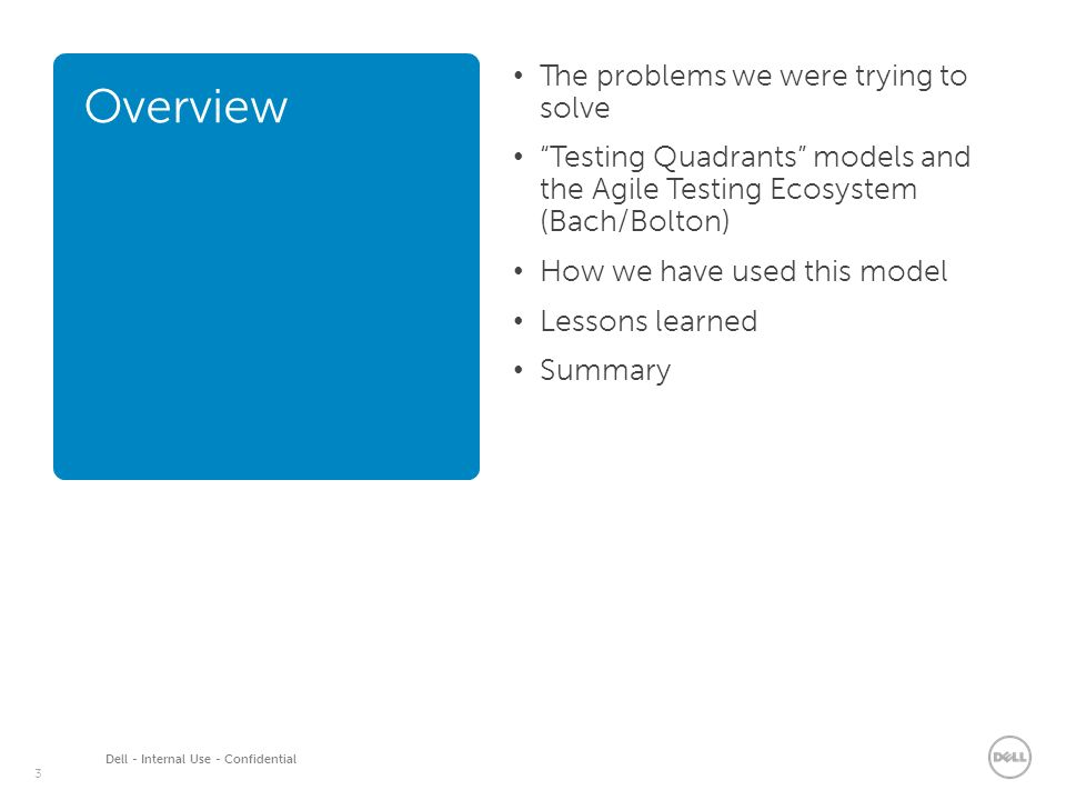 agile model in manual testing