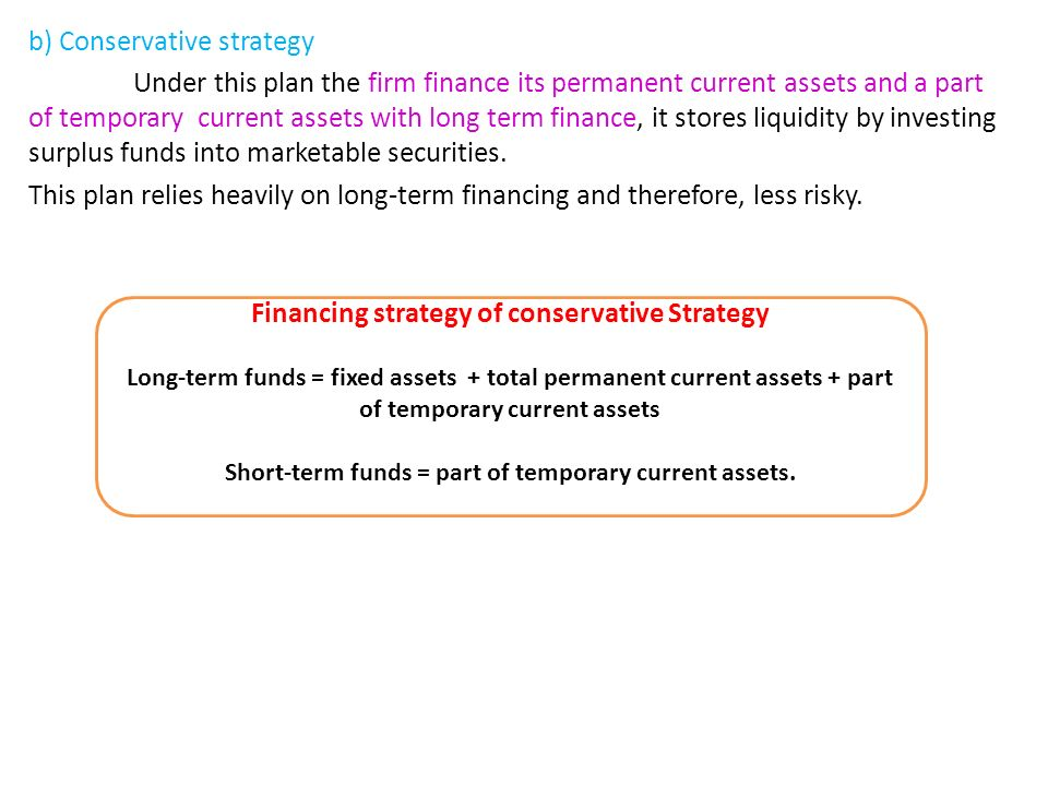 aggressive financing strategy Working capital management as a financial strategy has its effects on liquidity as well as profitability of the firm the present study investigates the relatio.